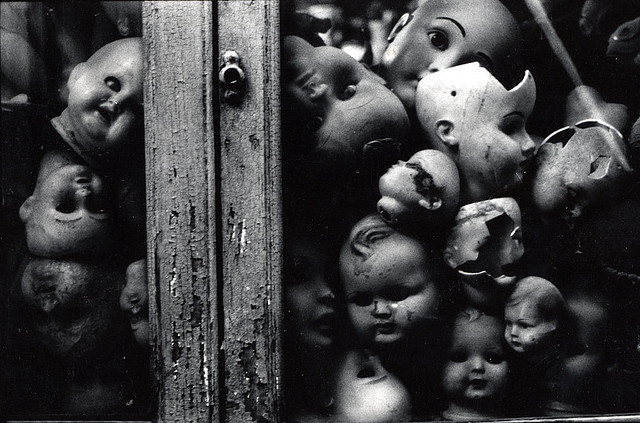 Têtes de poupée