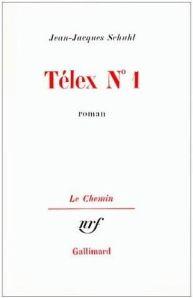 Jean-Jacques Schuhl-Telex-n-1