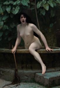 La Vérité sortant du puits, par Gérôme